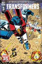 Image: Transformers #3 (incentive cover - Guidi) (10-copy) - IDW Publishing
