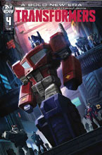 Image: Transformers #4 (cover A - Pitre-Durocher) - IDW Publishing