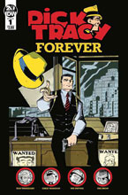 Image: Dick Tracy Forever #1 (cover A - Oeming) - IDW Publishing