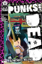 Image: Punks Not Dead: London Calling #3 (main cover - Simmonds) - IDW Publishing