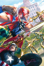 Image: Avengers #18 (incentive Marvels 25th Anniversary cover - Alex Ross) - Marvel Comics
