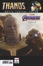 Image: Thanos #1 (incentive cover - Movie) - Marvel Comics