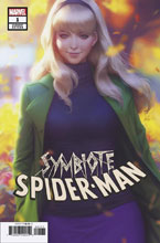 Image: Symbiote Spider-Man #1 (variant cover - Artgerm) - Marvel Comics