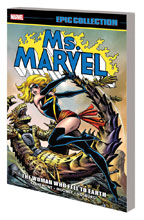 Image: Ms. Marvel Epic Collection: The Woman Who Fell to Earth SC  - Marvel Comics