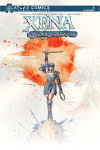 Image: Xena: Warrior Princess #1 (Atlas signed) - Dynamite