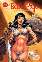 Image: Bettie Page: Unbound #1 (cover A - Royle) - Dynamite