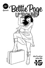 Image: Bettie Page: Unbound Vol. 03 #1 (incentive cover - Ohta B&W) (40-copy) - Dynamite
