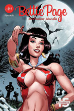 Image: Bettie Page: Unbound Vol. 03 #1 (incentive cover - Royle Sneak Peek) (75-copy) - Dynamite