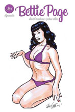 Image: Bettie Page: Unbound #1 (remarked edition - Brian Kong) - Dynamite