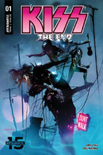 Image: Kiss End #1 (cover A - Sayger) (Web Super Special) - Dynamite
