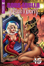Image: Barbarella / Dejah Thoris #4 (incentive cover - Sanapo Seduction) (10-copy) - Dynamite