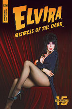 Image: Elvira: Mistress of the Dark #9 (cover D - Photo) - Dynamite