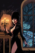 Image: Elvira: Mistress of the Dark #9 (incentive cover - Cermak virgin) (10-copy) - Dynamite