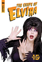Image: Elvira: The Shape of Elvira #4 (cover D - Photo) - Dynamite