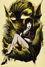 Image: Elvira: The Shape of Elvira #4 (incentive cover - Francavilla virgin) (10-copy)) - Dynamite