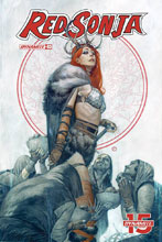 Image: Red Sonja #3 (cover D - Tedesco) - Dynamite