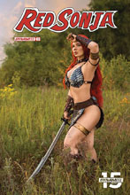 Image: Red Sonja #3 (cover E - Cosplay) - Dynamite