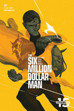 Image: Six Million Dollar Man #2 (cover C - Magana) - Dynamite