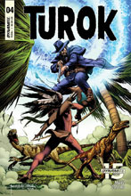 Image: Turok #4 (cover A - Morales) - Dynamite