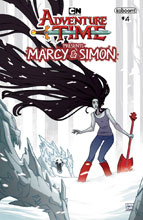 Image: Adventure Time: Marcy & Simon #4 (variant Preorder cover - Marcy) - Boom! Studios