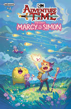 Image: Adventure Time: Marcy & Simon #4 (variant Preorder cover - Simon) - Boom! Studios