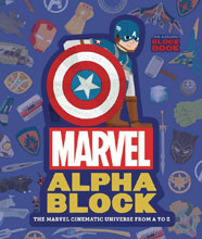 Image: Marvel Alphablock: Marvel Cinematic Univ A-Z Board Book  - Abrams Appleseed