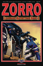 Image: Zorro: Legendary Adventures Book 2 #3 (variant cover - Blazing Blades) - American Mythology Productions
