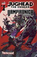 Image: Jughead the Hunger vs. Vampironica #1 (cover A - Pat & Tim Kennedy) - Archie Comic Publications