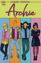 Image: Archie #704 (cover A - Fish) (Web Super Special) - Archie Comic Publications