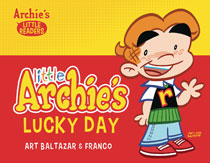 Image: Little Archie's Lucky Day Picture Book HC  - Archie Comic Publications