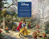 Image: Disney Dreams Collection: Thomas Kinkade Studios Coloring Book SC  - Andrews Mcmeel