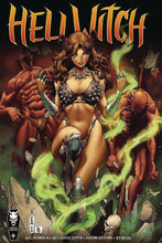 Image: Hellwitch: Hellbourne #1 (variant cover - Hellqueen) - Coffin Comics
