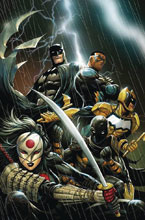 Image: Batman and the Outsiders #1 (DFE signed - Hill [Gold]) - Dynamic Forces