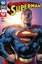 Image: Superman #1 (DFE signed - Bendis) - Dynamic Forces