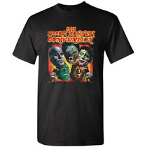 Image: 1975 Famous Monster Con T-Shirt  (XXL) - Famous Monsters of Filmland