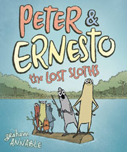Image: Peter & Ernesto: Lost Sloths HC  - First Second (:01)
