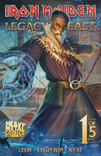 Image: Iron Maiden - Legacy of the Beast Vol. 2: Night City #1 (cover C - Casas) - Heavy Metal Magazine