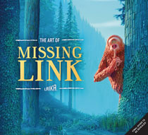 Image: Art of Missing Link HC  - Insight Editions