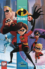 Image: Disney/Pixar Incredibles 2: Story of Movie in Comics GN  (Young Adult) - Joe Books Inc.