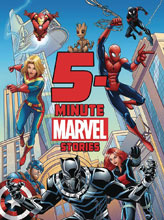 Image: 5 Minute Marvel Stories HC  - Marvel Press