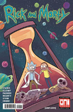 Image: Rick and Morty #49 (cover A - Marc Ellerby, Sarah Stern) - Oni Press Inc.