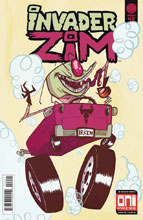 Image: Invader Zim #42 (cover B - Adler) - Oni Press Inc.