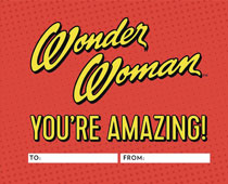 Image: Wonder Woman: You're Amazing Fill in Book HC  - Rp Studio