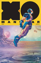 Image: X-O Manowar [2017] #26 (incentive cover - Portela Interlocking) (20-copy) - Valiant Entertainment LLC