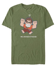 Image: Wreck It Ralph T-Shirt: Current Mood  (L) - Fifth Sun