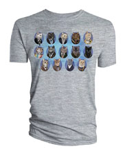 Image: Doctor Who T-Shirt: Doctor Cats  (M) - Titan Books Uk