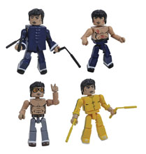 Image: Bruce Lee Minimates Box Set  - Diamond Select Toys LLC