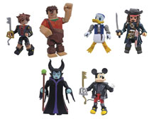 Image: Kingdom Hearts Minimates Series 3 Assortment  - Diamond Select Toys LLC