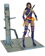 Image: Marvel Select Action Figure: Psylocke  - Diamond Select Toys LLC