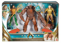 Image: Aquaman Movie  (6-inch) Action Figure 3 pack Case - Mattel Toys
